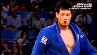 世界柔道パリ2011 男子90㎏級3位決定戦 小野卓志銅メダル