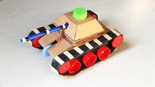 Amazing 9v Battery Tank Mini Gear