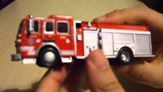 model fire truck review sutphen monarch rescue fire truck 1 72