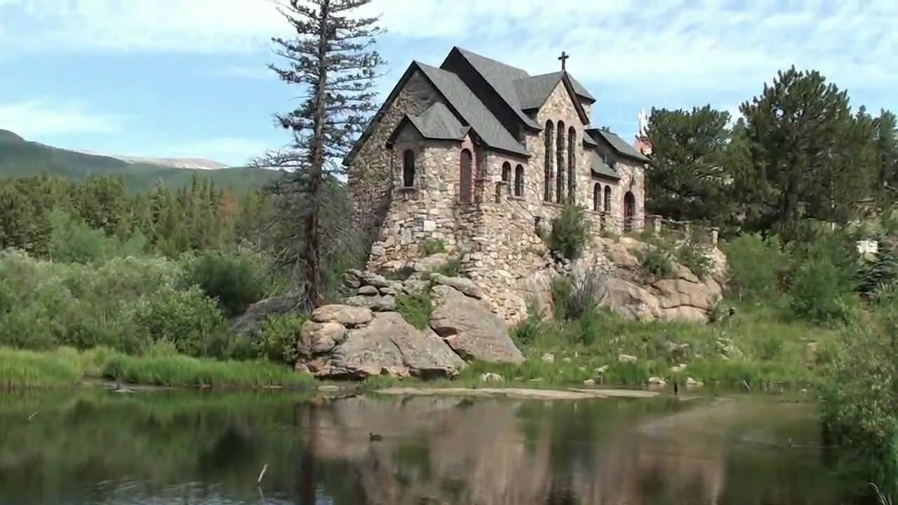 Awesome chapel built on a rock allenspark colorado in for Building a house in colorado
