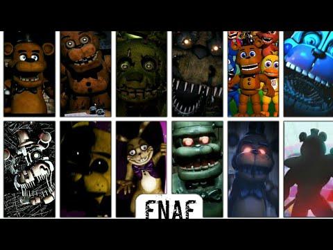 Evolution Of Fnaf Games (2014-2020)