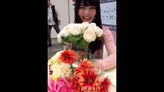 AKB48チーム4のみゆぽんこと大森美優ちゃんの 幕張メッセで行われた大写真会の様子.
