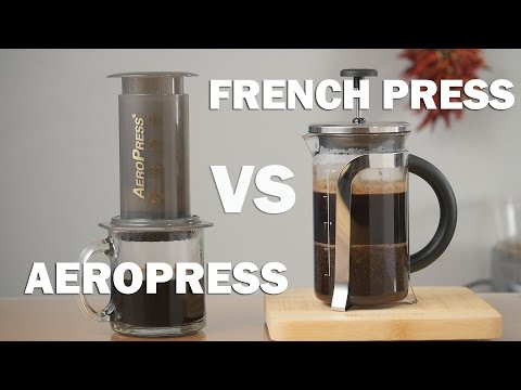 Aeropress vs French Press - Pros and Cons you Need to Know