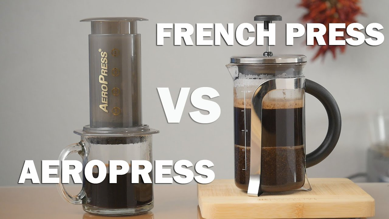 aeropress vs french press pros and cons you need to know youtube. Black Bedroom Furniture Sets. Home Design Ideas