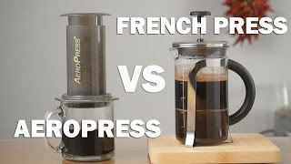 Video Aeropress vs French Press - Pros and Cons you Need to Know download MP3, 3GP, MP4, WEBM, AVI, FLV Juli 2018