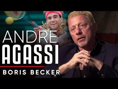 BORIS BECKER ON ANDRE AGASSI | London Real