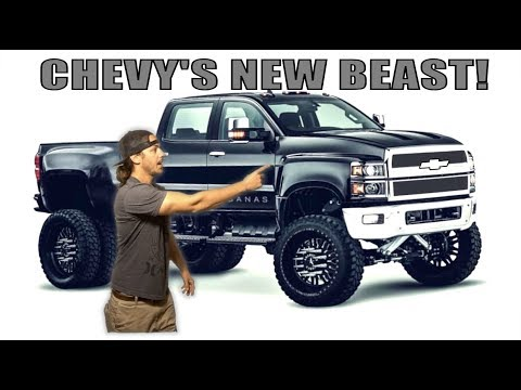 THE BRAND NEW CHEVY 4500!