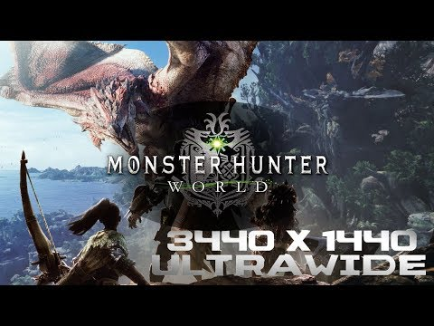 Monster Hunter World 21:9 ultrawide support now available
