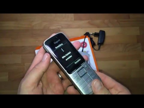 Ersteindruck & Verarbeitung Gigaset SL450HX - VOIP DECT Telefon