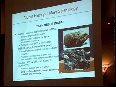 Bruce Banerdt - Geophysical Monitoring Station - GEMS - 14th International Mars Society Convention