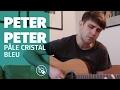 Peter Peter— Pâle cristal bleu