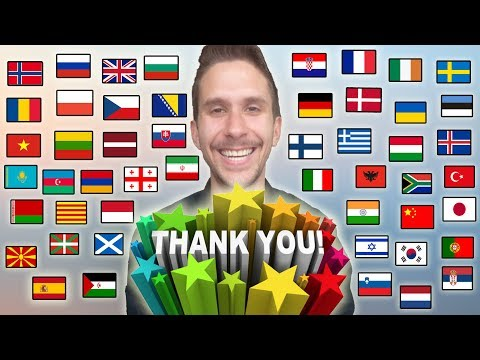 """How To Say """"THANK YOU!"""" In 50 Different Languages"""