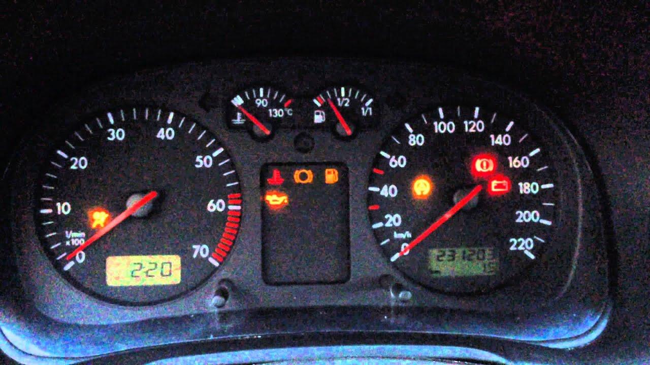 vw golf mk    engine oil level indicator youtube