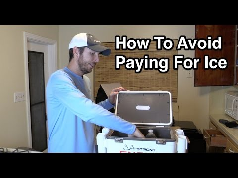 How To Avoid Paying For Ice To Keep Your Cooler Cold!