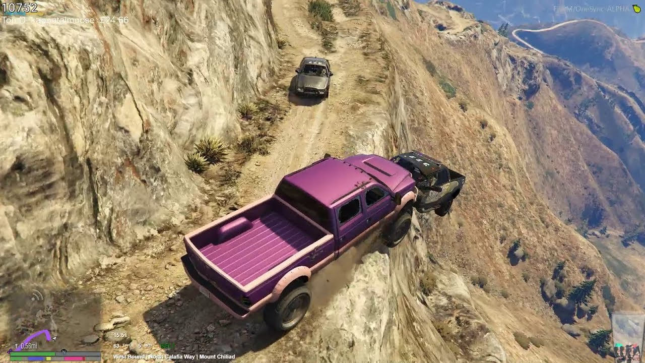 Police Chase Eugene Zuckerburg UP Mount Chilliad