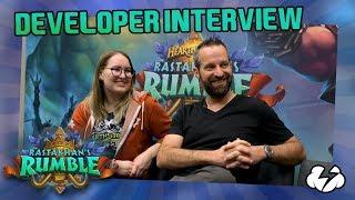 Hearthstone Developer Interview | Ben Thompson & Catherine Morgan | Blizzcon 2018