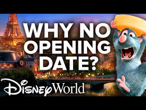Ratatouille Ride VIRTUALLY COMPLETE At EPCOT - Why No Opening Date?!