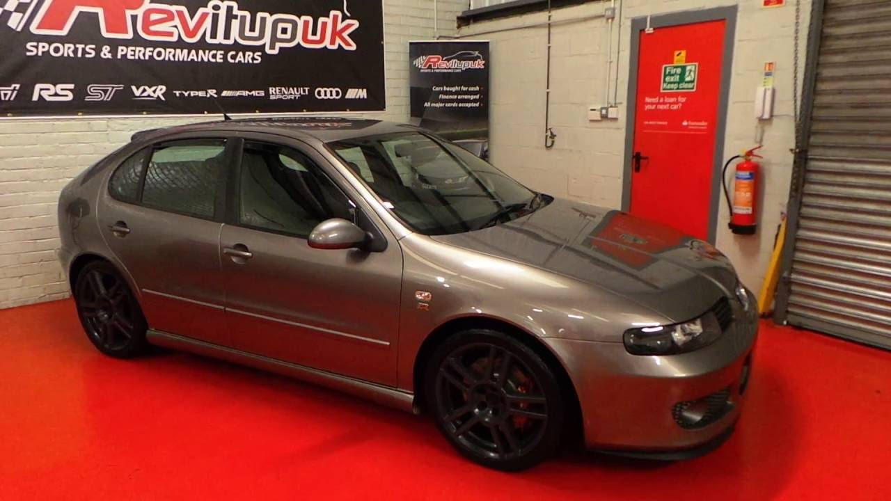 2004 seat leon cupra r grey apr stage 2 300 bhp youtube. Black Bedroom Furniture Sets. Home Design Ideas
