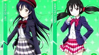 Baby Maybe Koi no Button (Umi x Nico)