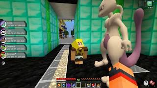 Minecraft: Pokemon X Y - MEWTWO VIU A BONNIE #86