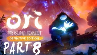 Ori and the blind forest Definitive Edition Walkthrough Part 8 MISTY WOODS