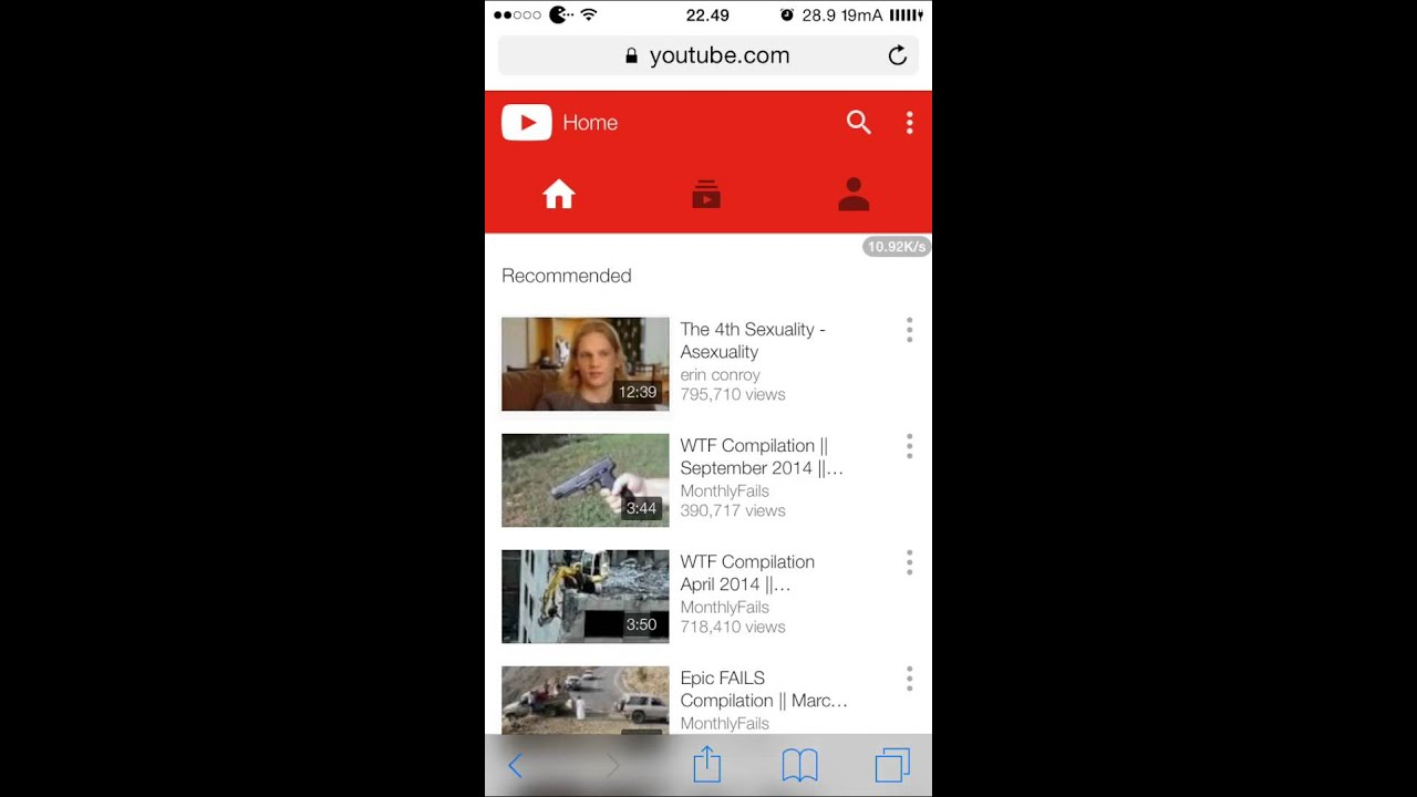 How to watch youtube in safari iOS 8.4