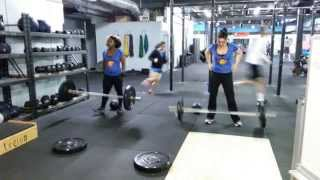 jessica luna and shanell parrish beast mode challenge plano texas crossfit