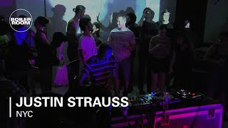 Justin Strauss Boiler Room NYC LIVE Show