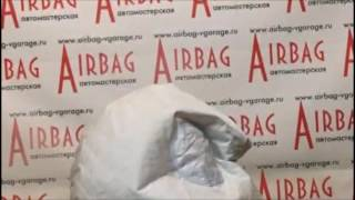 Срабатывание подушки безопасности.  Ремонт Airbag.(Мы выполнили ремонт накладки на руль, выполнили ремонт подушки безопасности (установили новый пиропатрон,..., 2016-12-03T19:39:06.000Z)