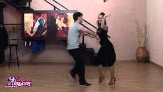 Adrián y Anita. II masterclass de salsa en Escuela de Baile el Almacén. Resumen segundo grupo