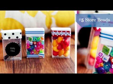10 Smart Ways to Repurpose A Tic Tac Box