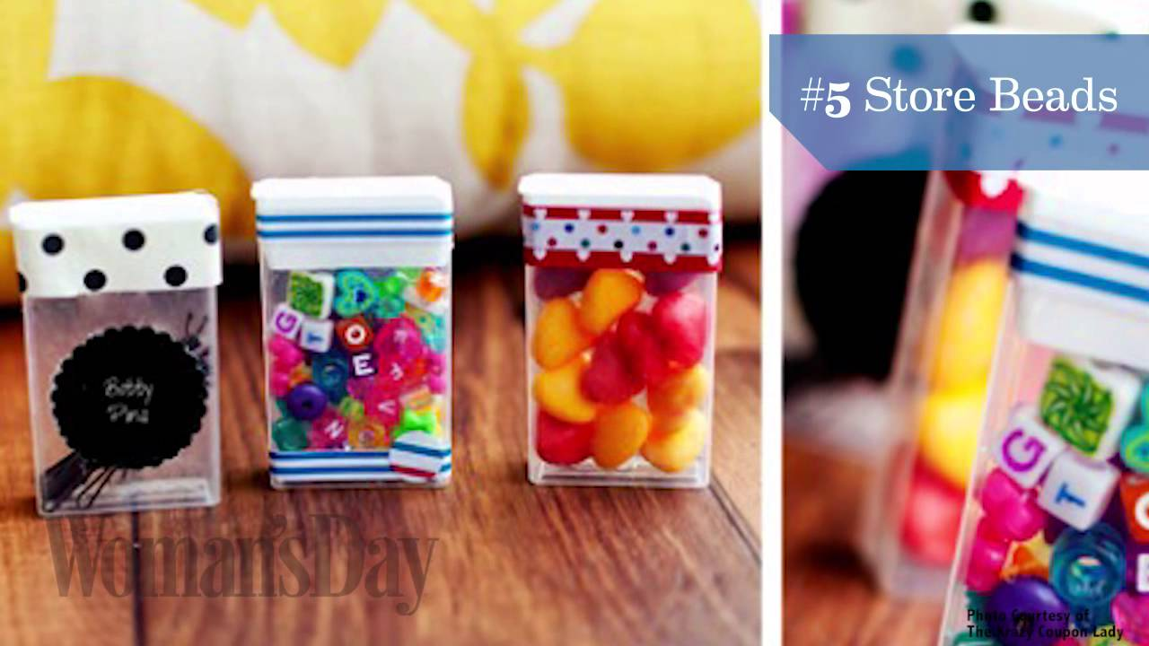 10 Smart Ways To Repurpose A Tic Tac Box Youtube