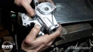Сборка модернизированного актуатора сцепления Toyota Corolla - SWS