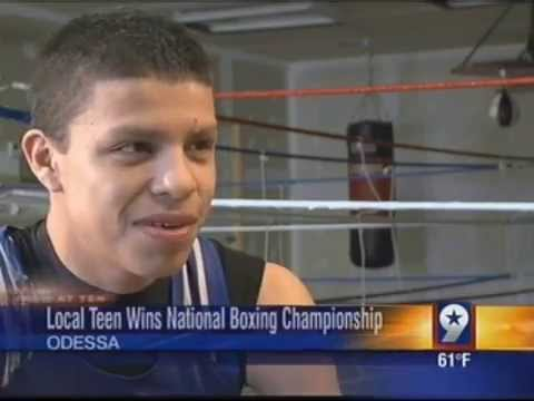 Odessa Teen Boxing Champ Sets Sights on 2016 Olympics