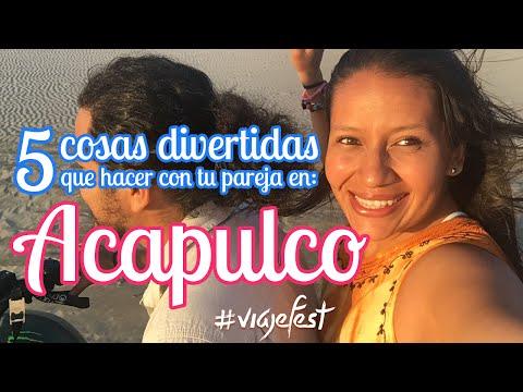 5 cosas divertidas que hacer en Acapulco
