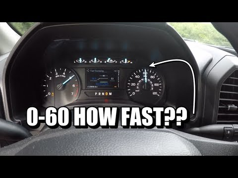 2018 F-150 2.7L Ecoboost 0-60!! FASTER than a RAPTOR??