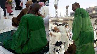 Sosok misterius berjubah hijau di Mekah