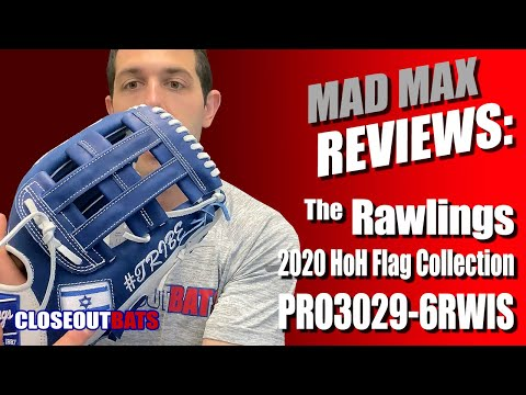 Closeoutbats.com Rawlings Heart Of The Hide Flag Collection 12 75