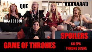 GAME OF THRONES - DAENERYS DEATH SCENE REACTION - S8 EP6
