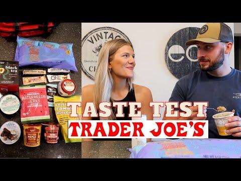 TRADER JOE'S TASTE TEST NEW PRODUCTS (August 2020)