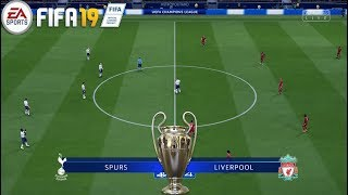 Tottenham Hotspur Vs Liverpool ! FIFA 19 ! 02.06.2019  !UEFA Champions League FINAL 2018/19