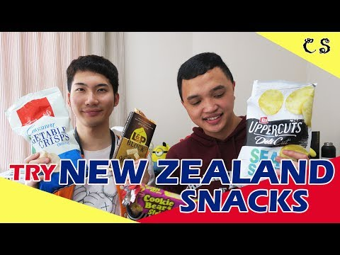 Indonesian & Chinese Try New Zealand Snacks!