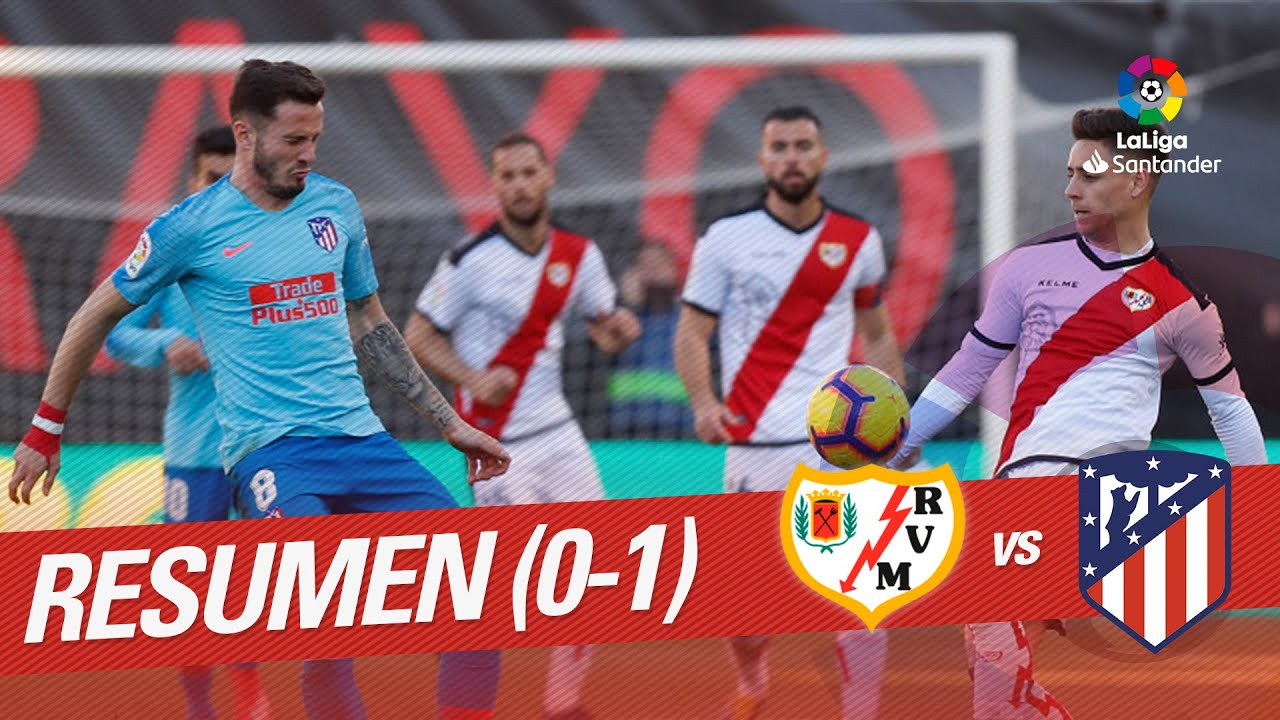 Resumen de Rayo Vallecano vs Atlético de Madrid (0-1)