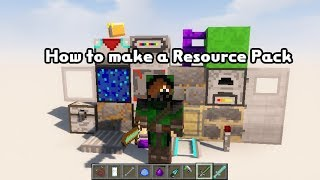 how to make a texture pack