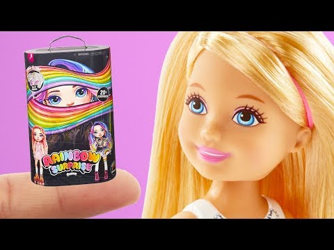 6 DIY Barbie Hacks Miniature Slime Poopsie, Lego Frozen, Crayola Colored Pencils, More Barbie Crafts
