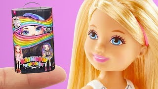 6 DIY Barbie Hacks Miniature Slime Poopsie, Lego Frozen, Crayola Colored Pencils, More Barbie Crafts