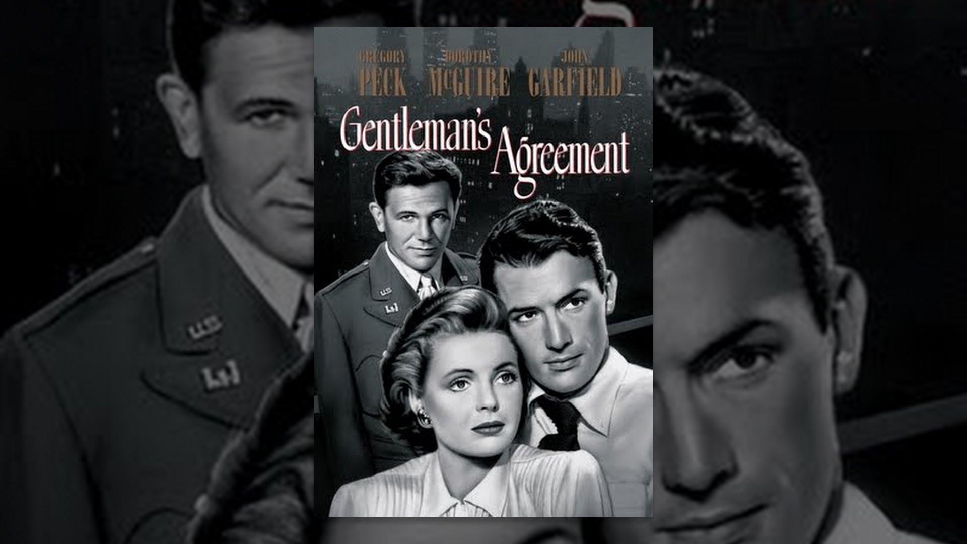Gentlemans Agreement Youtube