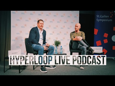 The Man behind HYPERLOOP? (Full Podcast with Dirk Ahlborn ...