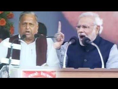 Modi vs Mulayam vs Kejriwal: Battle of mega rallies in Uttar Pradesh