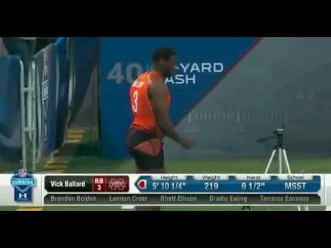 40-Yard Dash Fail- 2012 NFL Draft Combine